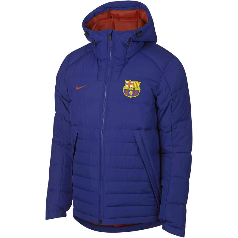 Пуховик мужской Nike Sportswear FCB Down Fill Hooded Jacket
